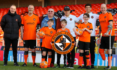 Dundee United Community Trust  announce the launch of Dundee United Para Football Club.