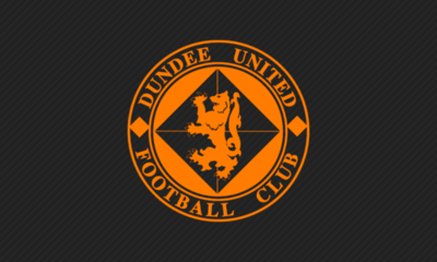 UNITED CREST ON BLACK BACKGROUND