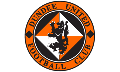 CLUB CREST ON TANGERINE BACKDROP
