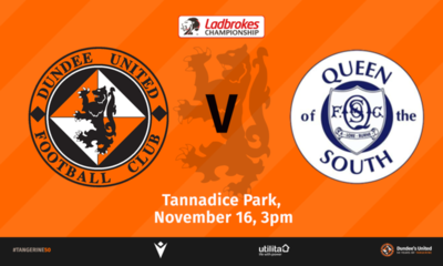 Queen of the South visit Tannadice this weekend