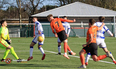 Kai Fotheringham provided a constant threat on goal