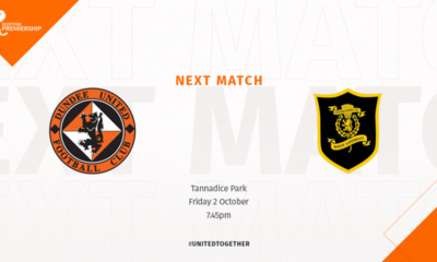 Livingston come to Tannadice on Friday night