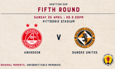 Scottish Cup Tie Graphic