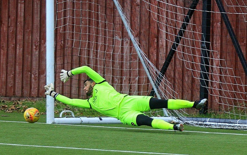 Deniz saves two penalties!!