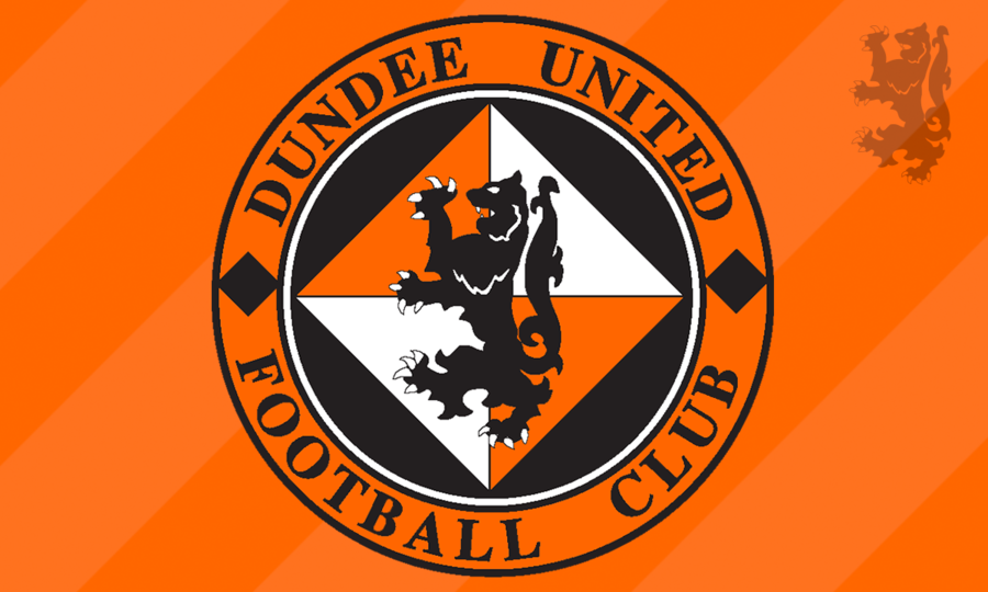 Generic Club crest on tangerine background