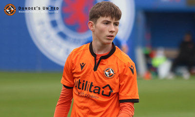Lennon Walker again impressed in midfield at the Rangers Training Centre
